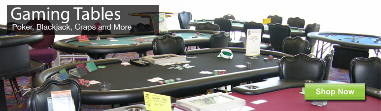 Buy Custom poker tables