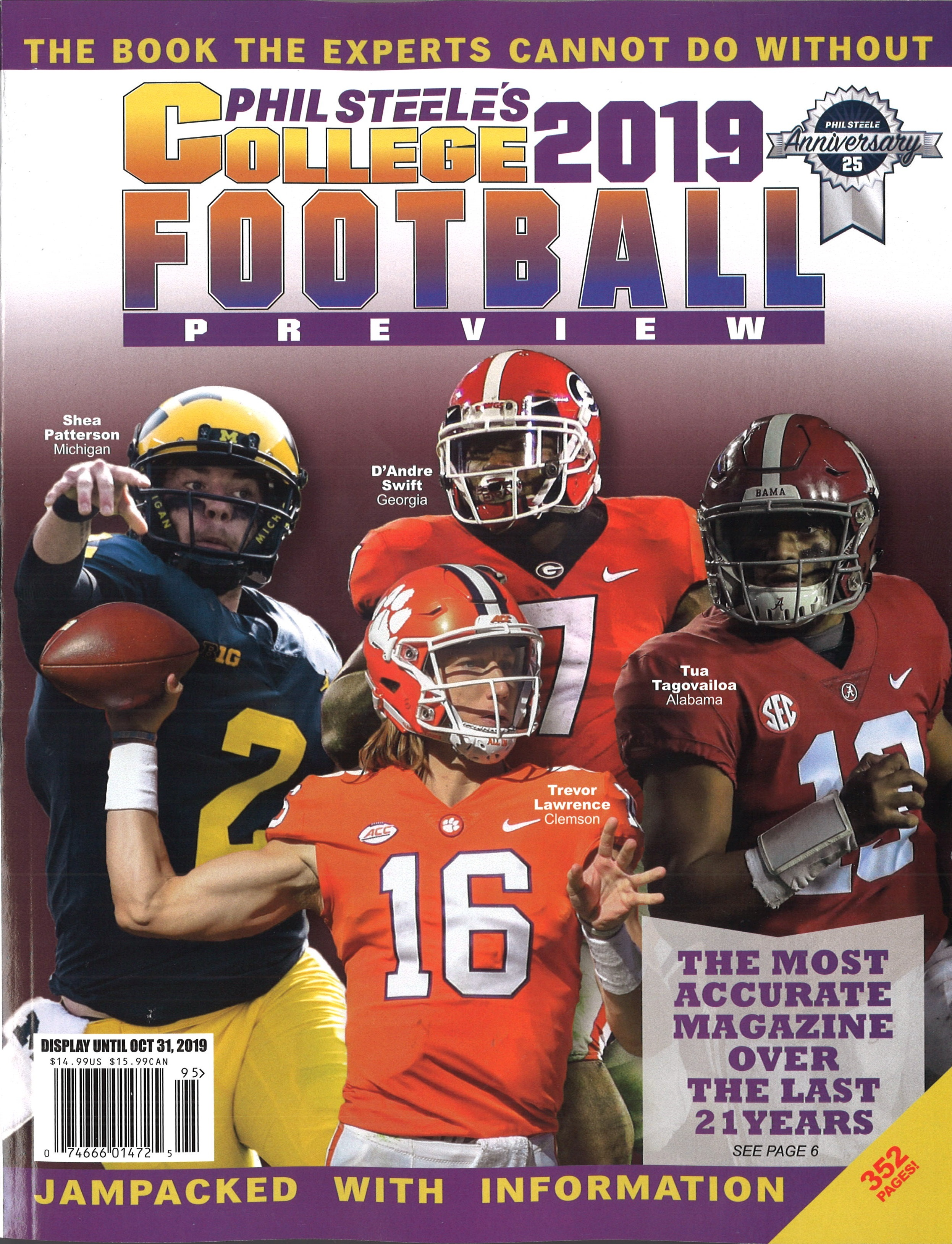 Phil Steele College Preview 2019